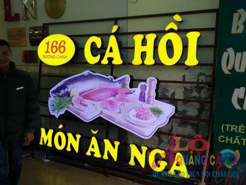Làm bảng hiệu quảng cáo giá rẻ đường Hà Tôn Quyền