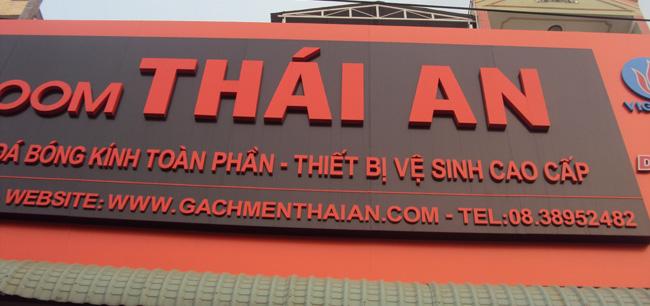 Làm bảng hiệu quảng cáo tại Đường Trường Sơn tphcm
