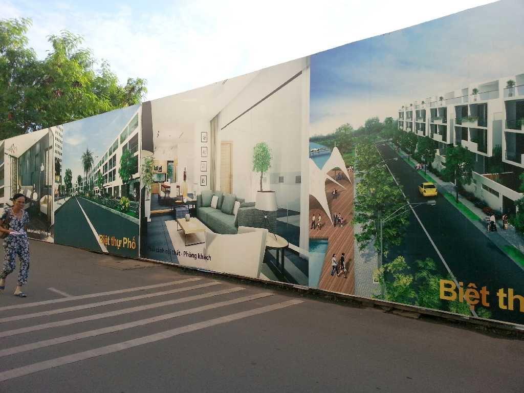 Xin giấy phép và Thi công hàng rào công trình, hàng rào baner giá rẻ tại Quận 2 – Tp HCM ( Sài Gòn)