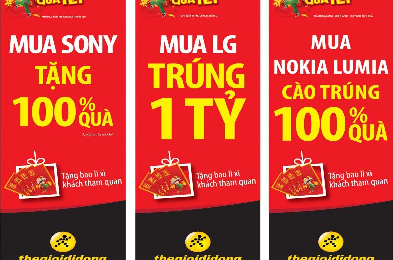 Xin giấy phép treo băng rôn, banner, cờ, phướn, biểu ngữ tại Hà Nội