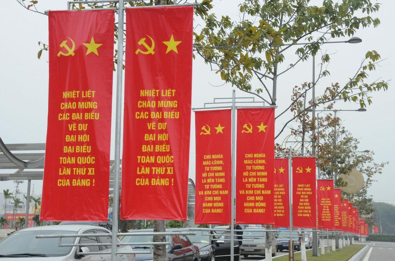 Xin giấy phép treo băng rôn pano banner quảng cáo Quận Hai Bà Trưng