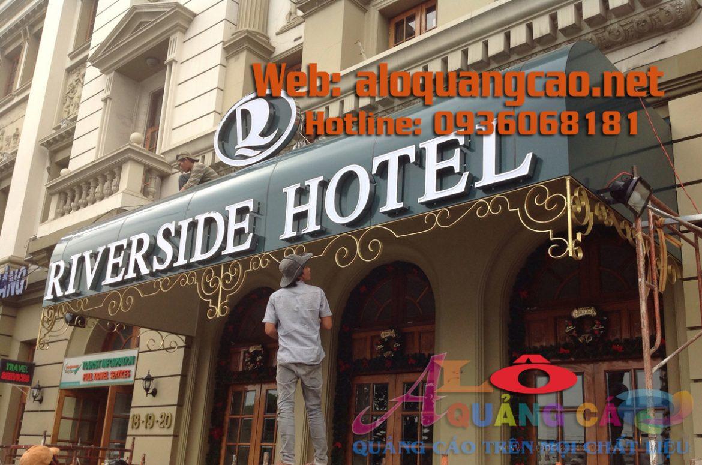 Thiết Kế Thi Công Làm Biển Hiệu Khách Sạn