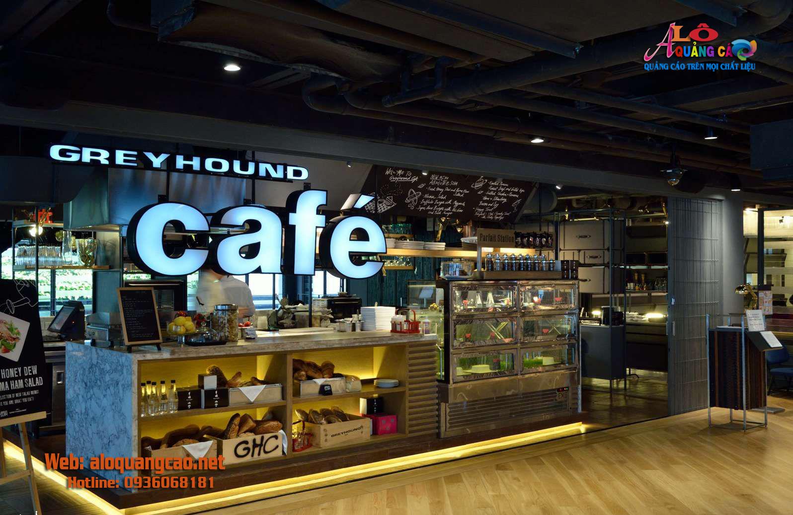 38 mẫu bảng biển hiệu quảng cáo quán Cà phê đẹp
