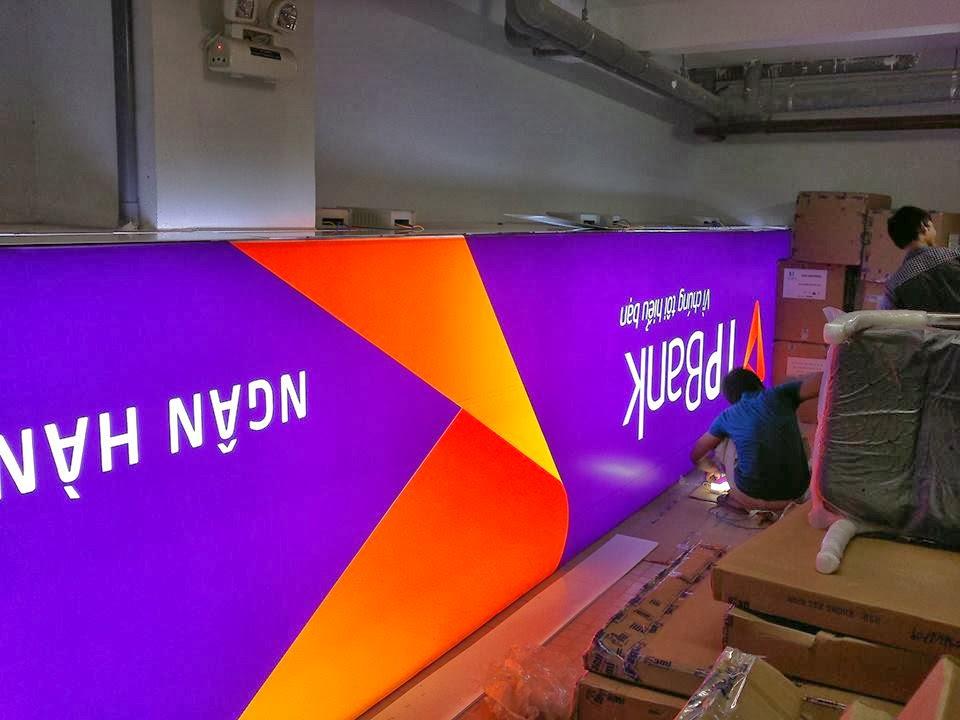 In ấn thi công bảng biển hiệu siêu mỏng 3M Decal 3M tại Huyện Củ Chi TpHCM