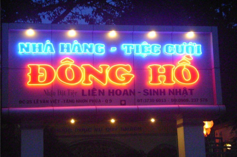 Thiết kế thi công làm bảng biển đèn Neon Sign tại Quận Hai Bà Trưng Hà Nội