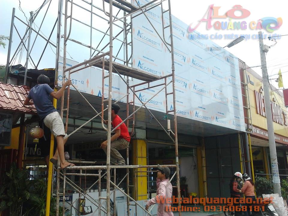 Thi công ốp mặt dựng Aluminium alu giá rẻ Quận Phú Nhuận