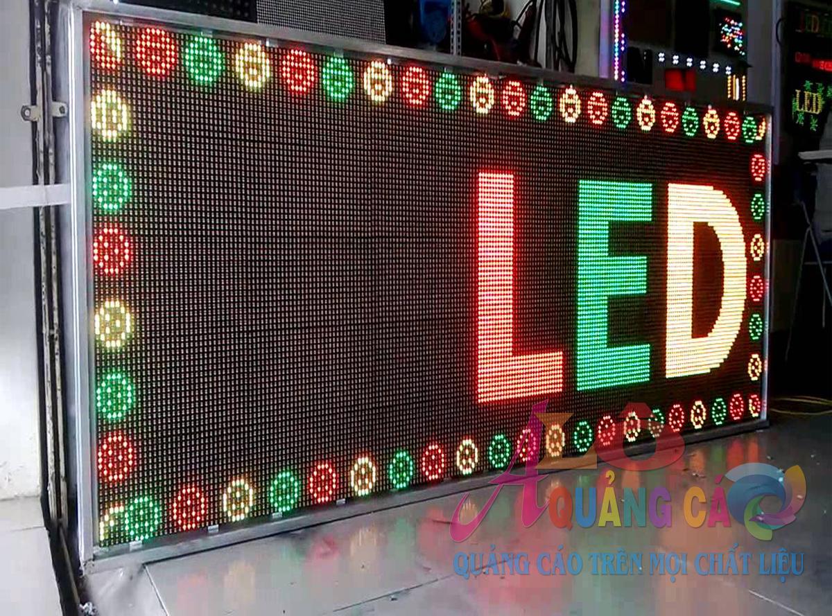 Thi công bảng led matrix P16 outdoor 3 màu