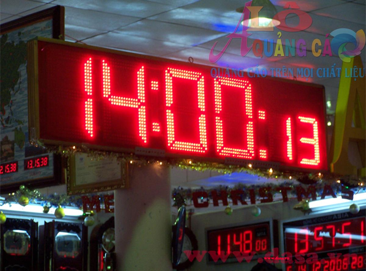 Bảng led matrix đồng hồ điện tử