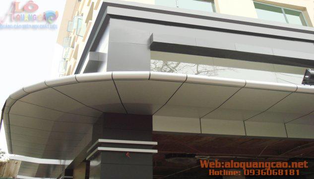 Thi công ốp mặt dựng Aluminium alu giá rẻ Quận Tân Bình