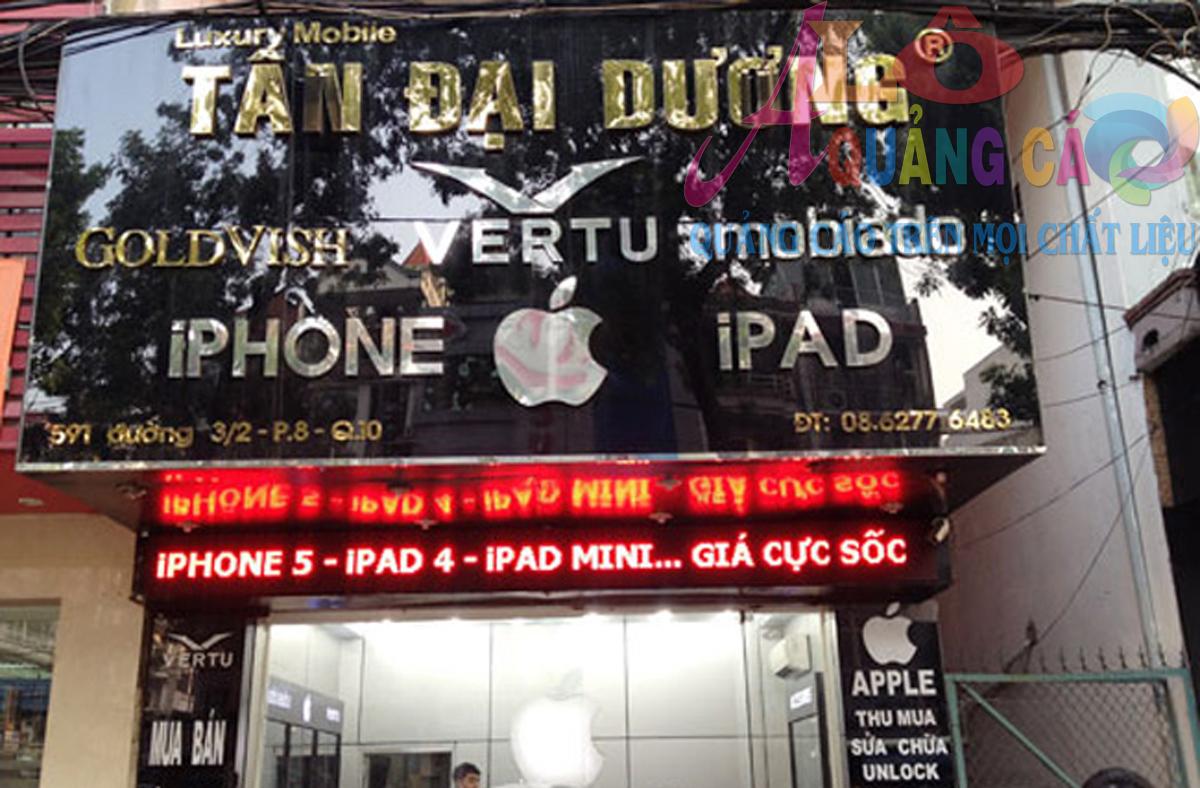 Á Châu mang đến quý khách hàng một bảng hiệu thật thu hút
