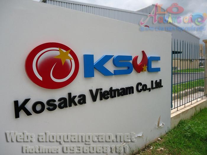 Thi công lắp đặt làm bảng hiệu tại các Khu công nghiệp