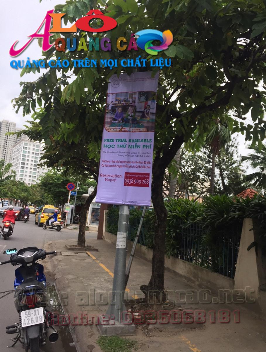 Á Châu hỗ trợ xin giấy phép treo ban rôn quảng cáo tại Quận 2
