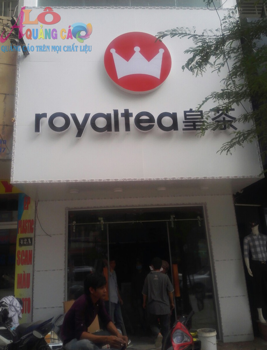 Thiết kế bộ nhận diện thương hiệu Royal Tea D2 Bình Thạnh