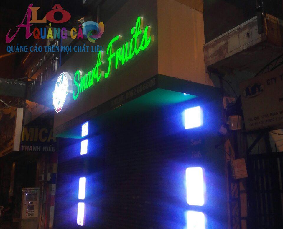 Làm bảng hiệu quảng cáo giá rẻ đường Huyền Quang Quận 1 TPHCM
