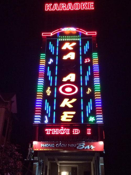Làm Bảng Hiệu Quảng Cáo Quán Karaoke Tại TpHCM