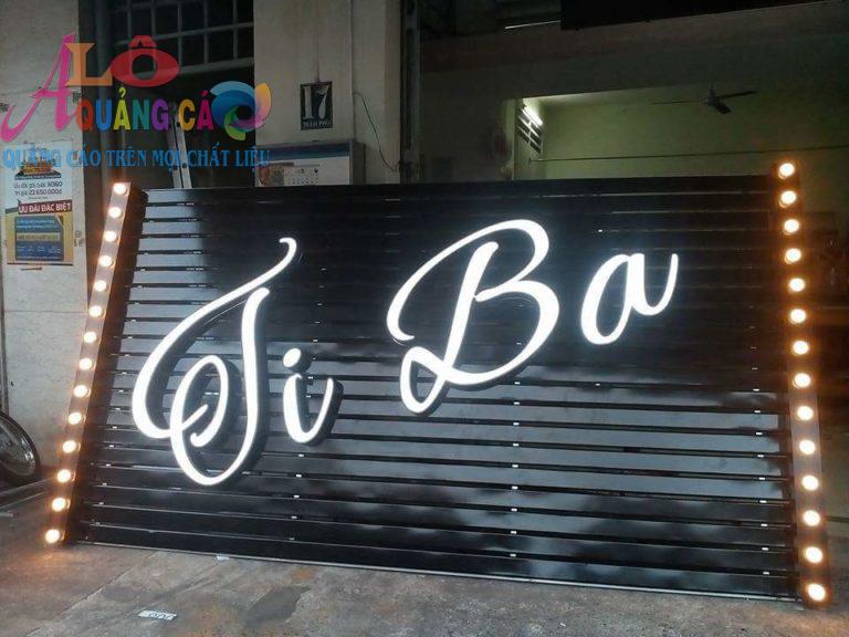 Mẫu bảng hiệu tiệm tóc salon tóc mới nhất 2018