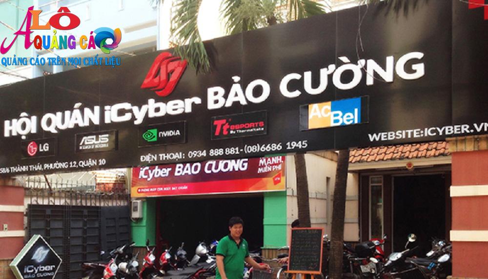 Icyber tài trợ thương hiệu cho đại lý Bảo Cường