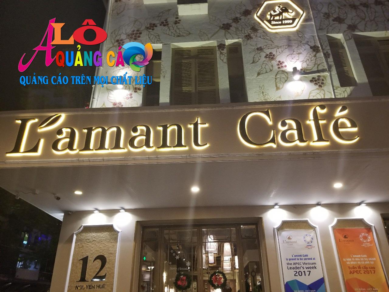 Làm Bảng Hiệu Quảng Cáo Giá Rẻ Cho Quán Cafe tại TpHCM