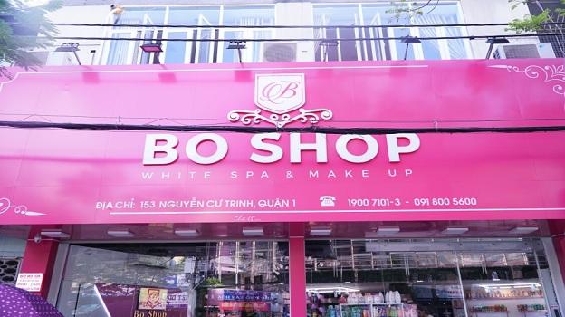 Thiết kế bảng hiệu shop mỹ phẩm chuyên nghiệp