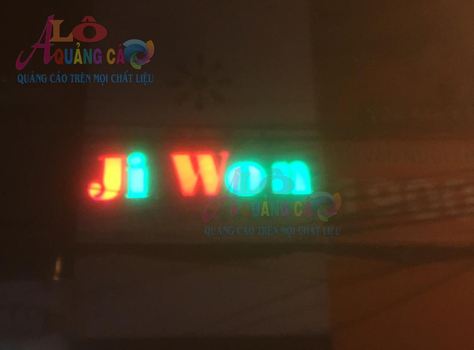 Thi công Logo  JI WON tại Tân Bình   Thành Phố Hồ Chí Minh
