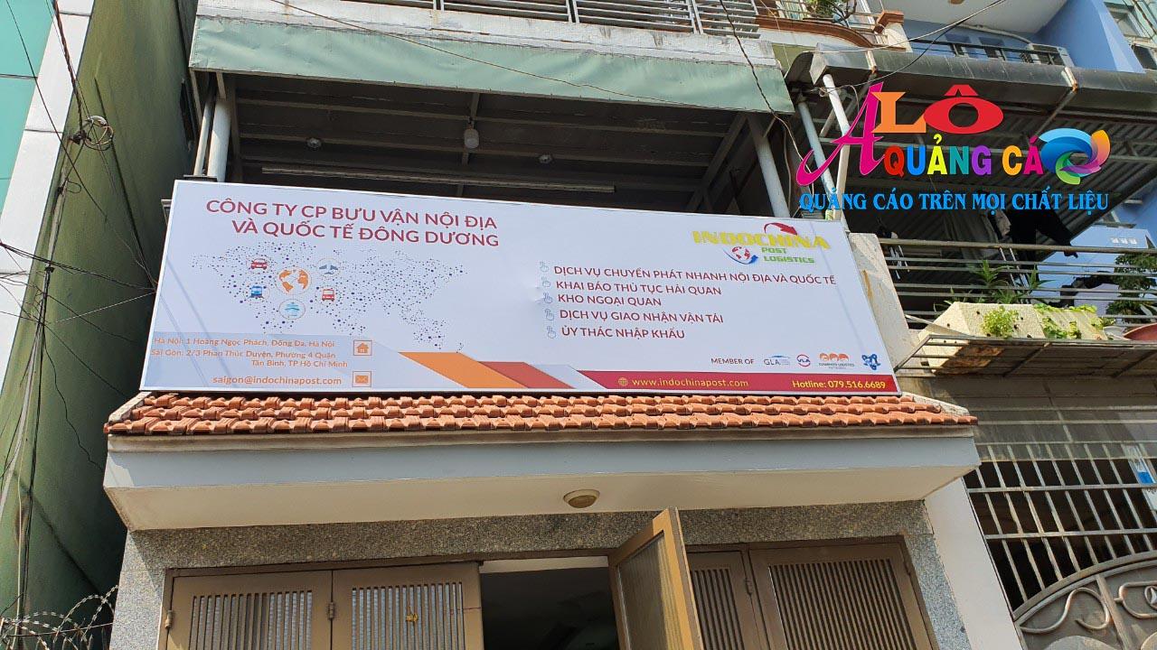 Dịch vụ In bạt quảng cáo giá rẻ tại TP.HCM